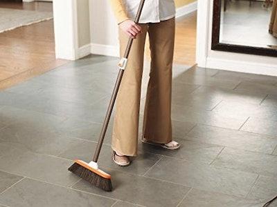 BISSELL Smart Details Hardwood Push Broom
