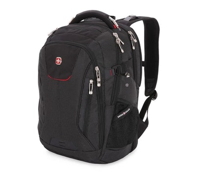 "SWISSGEAR® 18.5"" Scan Smart TSA Laptop and USB Power Plug Backpack - Black"