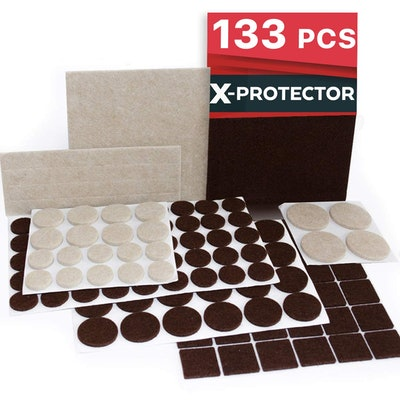 X-Protector Furniture Pads (133 Pieces)