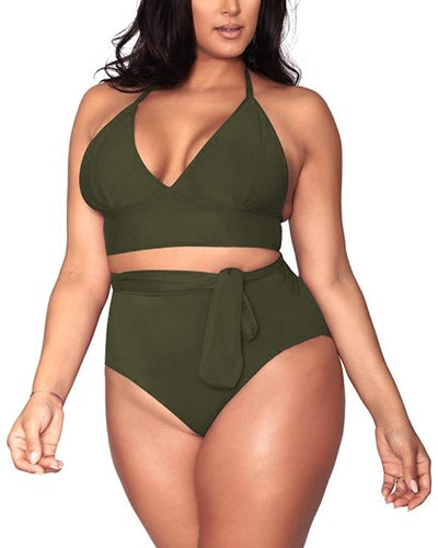Sovoyontee Plus Size Swimsuit