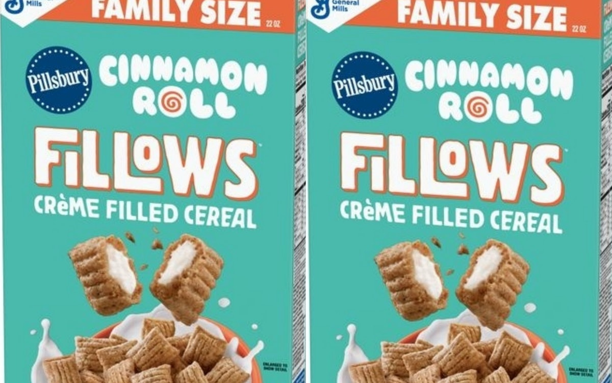 Pillsbury Cinnamon Roll Fillows Cereal Is Perfect For Anyone Who Likes Dessert For Breakfast