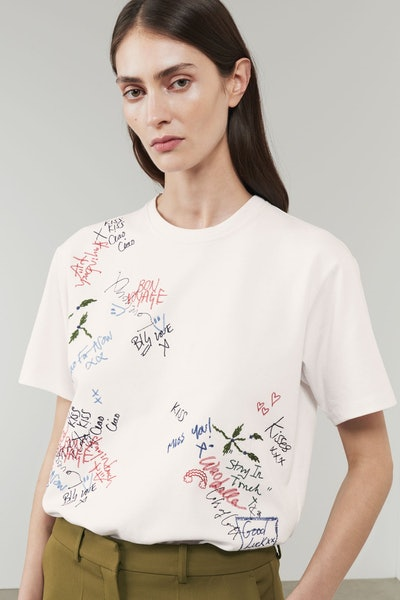 Graffiti Embroidered Tee