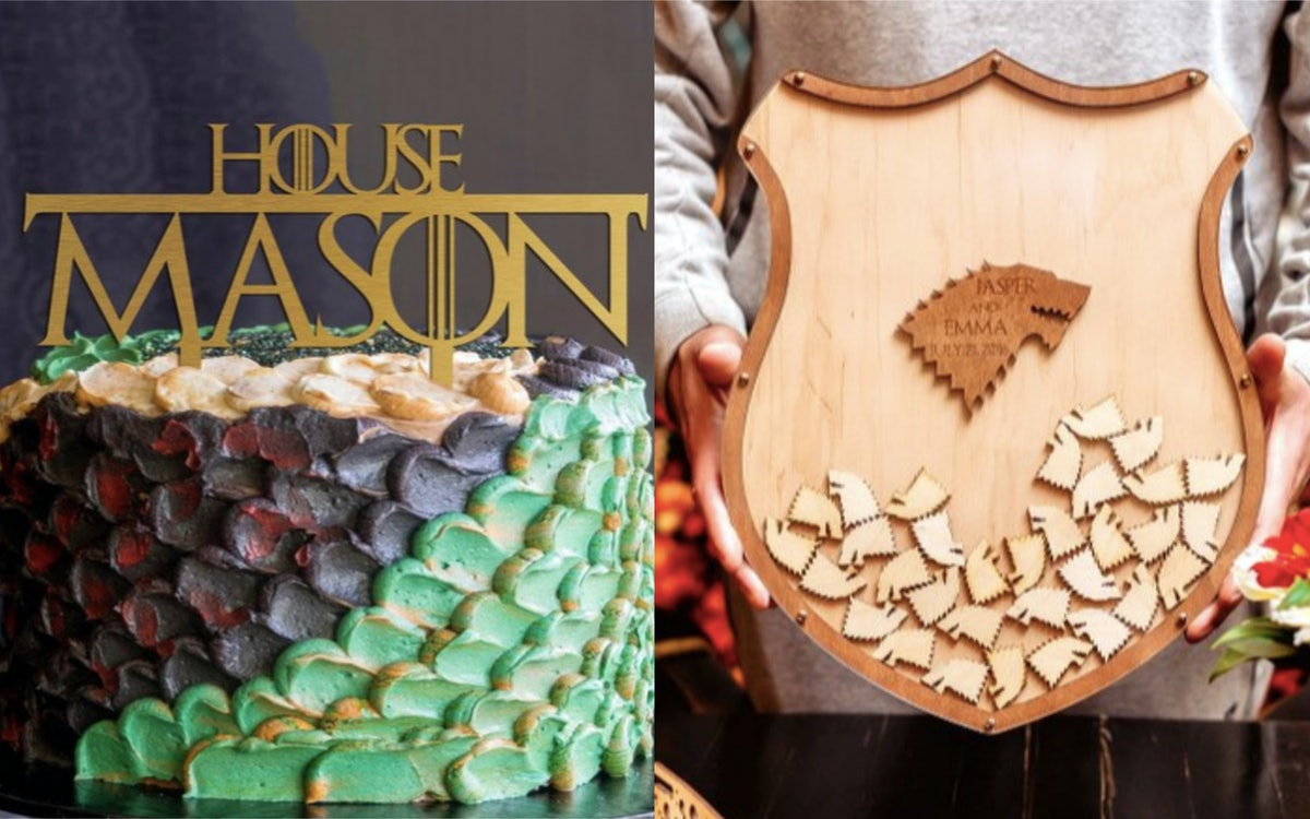 19 'Game Of Thrones' Wedding Ideas From Etsy