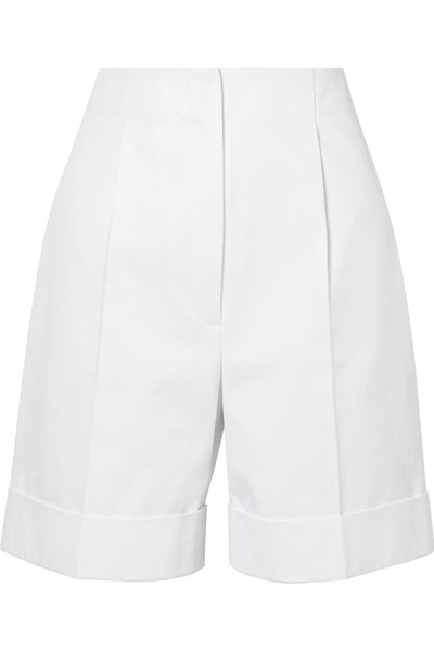 Abby Cotton Twill Shorts