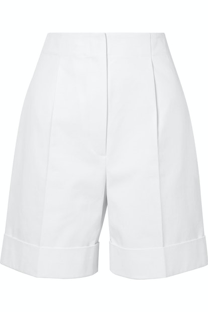 Abby Cotton Twill Shorts