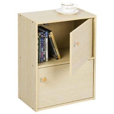 Furinno Pasir 2 Tier Bookcase
