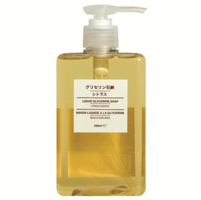 Muji Liquid Soap in Citrus Woods
