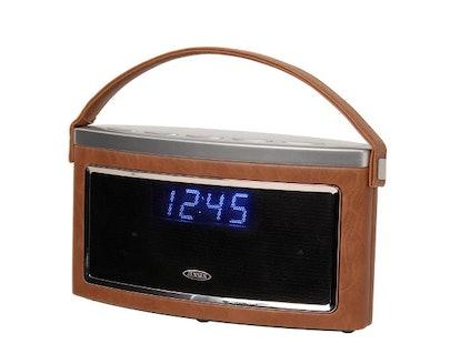 JENSEN Wireless Bluetooth Stereo Speaker with FM Radio and Aux-In (SMPS-725)
