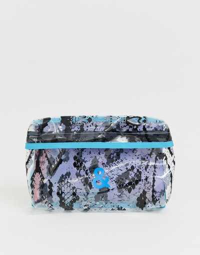 ASOS DESIGN x glaad& unisex snake print body bag