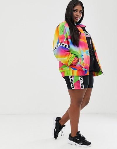 ASOS DESIGN x glaad& unisex track jacket
