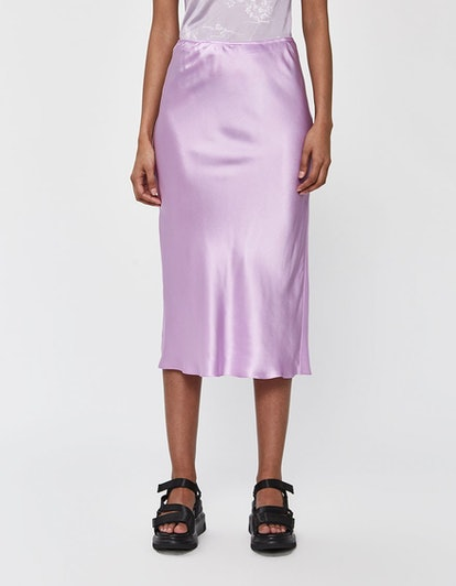 Silk Slip Skirt