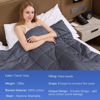ZoniLi Weighted Blanket
