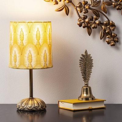 Opalhouse™ Peacock Shade Table Lamp