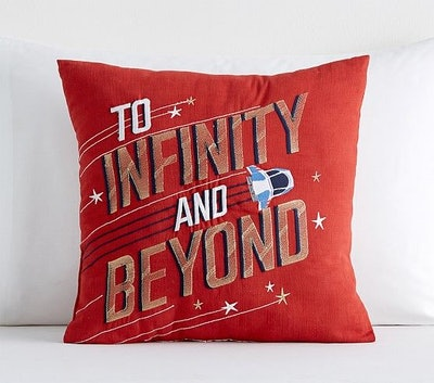 To Infinity And Beyond Pillow