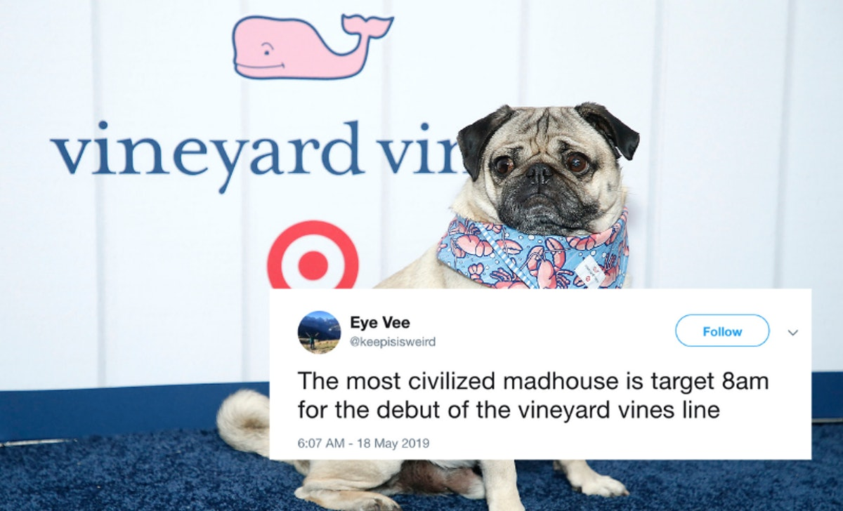 These Tweets About Target's Vineyard Vines Collaboration Launch Day Will Crack You Up