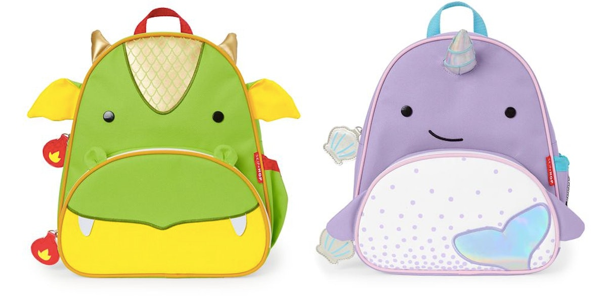 Skip Hop Narwhal & Dragon Backpacks Are Pure Magic *And* Functional