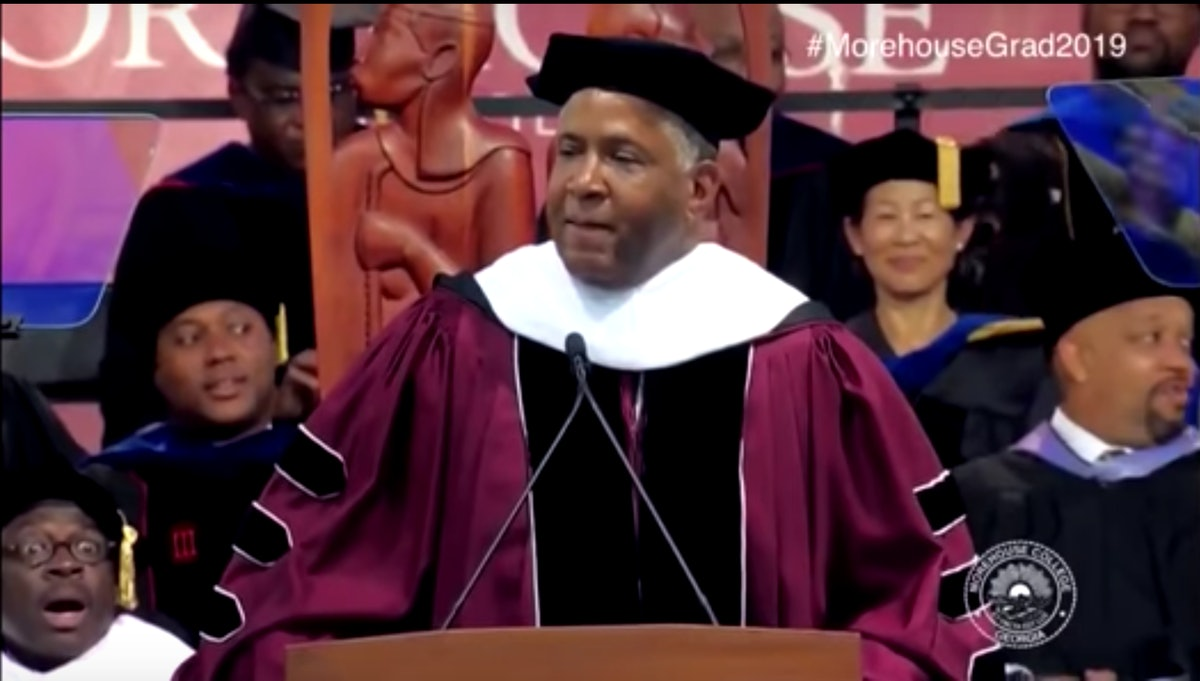 Billionaire Robert F. Smith Promises To Pay Loan Debt For All 2019 Morehouse College Grads