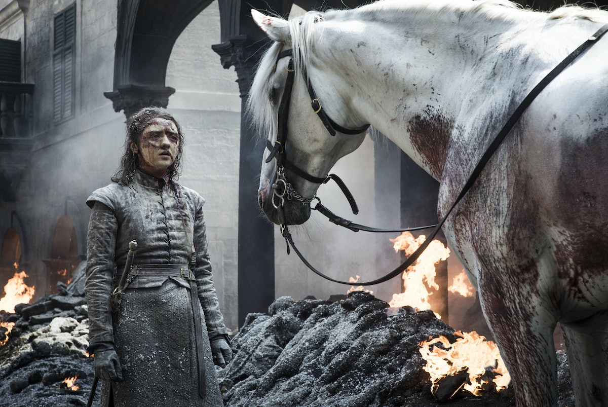 Where Is Arya Going At The End Of 'Game Of Thrones'? Fans Are All Asking The Same Question