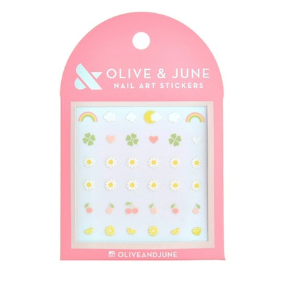 Olive & June Lovely Day Nail Art Stickers - 36ct
