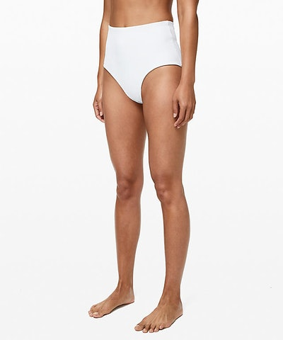 Clear Waters High-Waist Medium Bottom Online Only in White