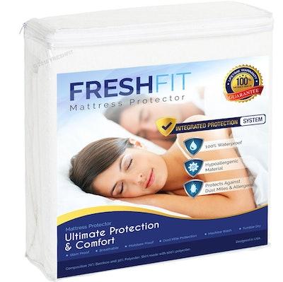 FreshFit Premium Waterproof Hypoallergenic Mattress Protector