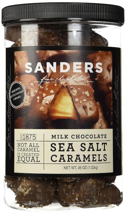 Sanders Milk Chocolate Sea Salt Caramels