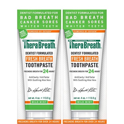 TheraBreath Fresh Breath Toothpaste (2 Pack)
