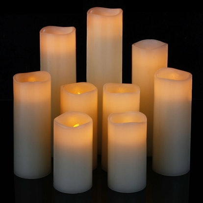 comenzar Flameless Candles (Set Of 9)