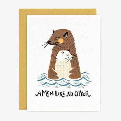 A Mom Like No Otter Card