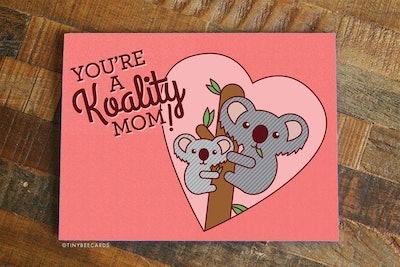 Koality Mom Card