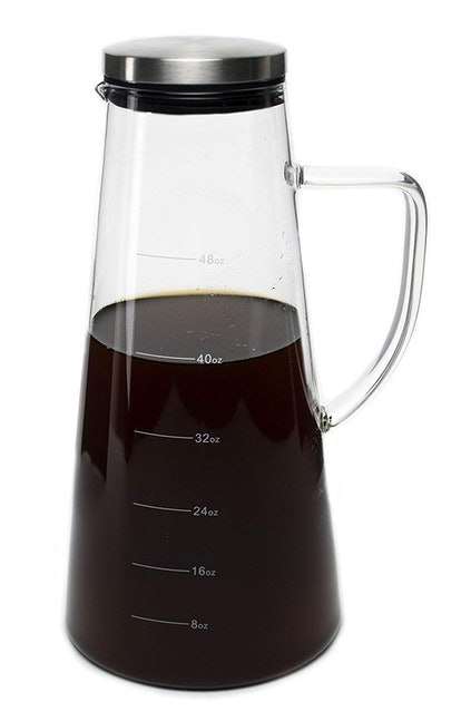 Large Cold Brew Coffee Maker and Tea Infuser