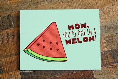 One In A Melon Card