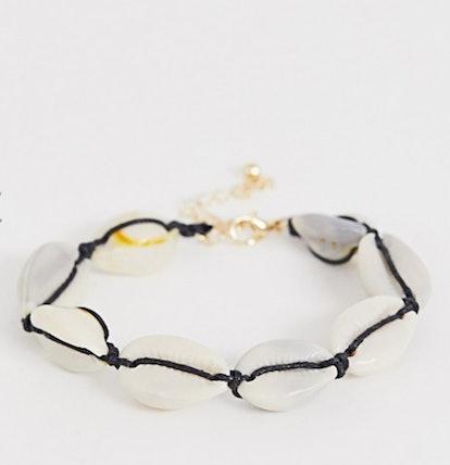 Faux Shell Bracelet