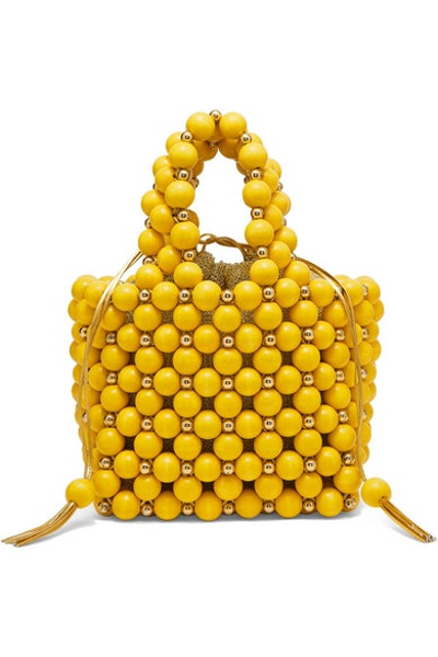Simi Small Beaded Tote