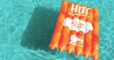 Taco Bell Pool Float