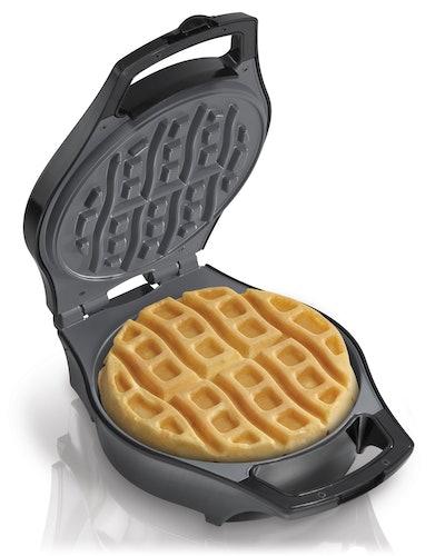 Hamilton Beach Mess Free Belgian Waffle Maker