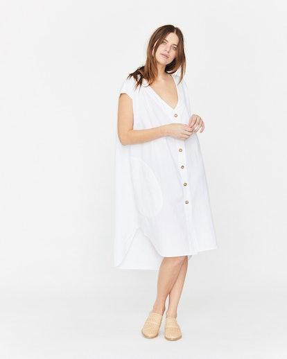 Delphine Button Down Dress