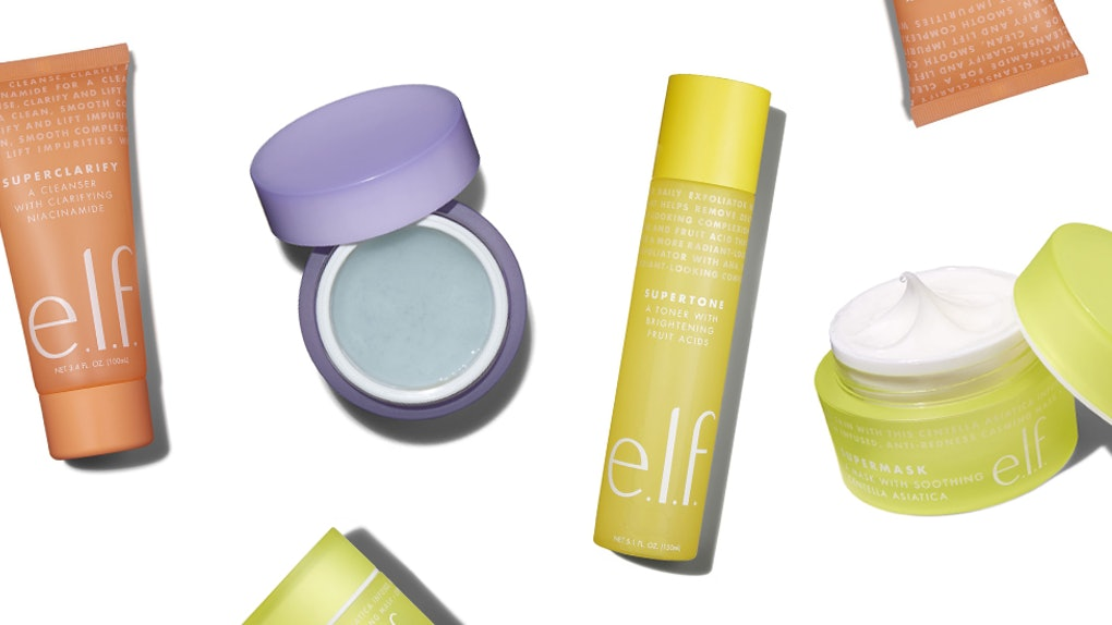How Much Do Elf Cosmetics The Supers Skincare Products Cost They Re Super Cute Super Cheap