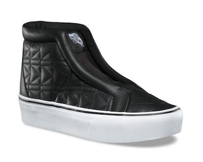 Vans X Karl Lagerfeld Sk8-Hi Laceless Platform Shoes