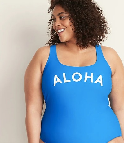 Graphic One Piece Swimsuit