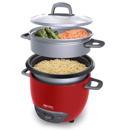 Aroma Housewares Rice Cooker And Food Steamer