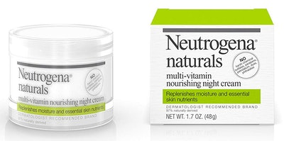 Neutrogena Naturals Multi-Vitamin Nourishing Night Cream, 1.7 Fl. Oz.