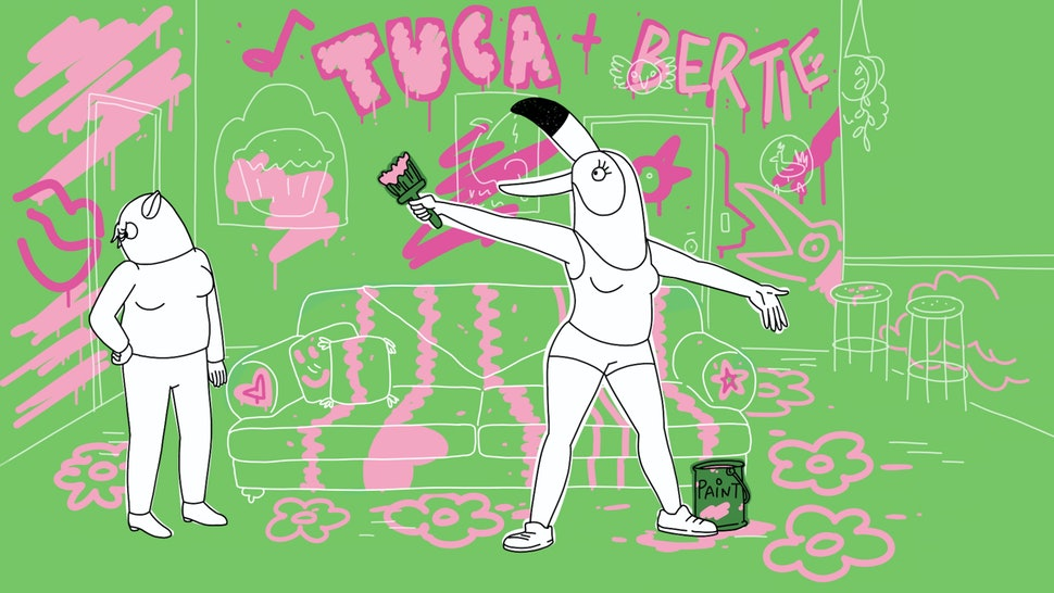 The 'Tuca & Bertie' Soundtrack Is Just As Fun As Its Zany