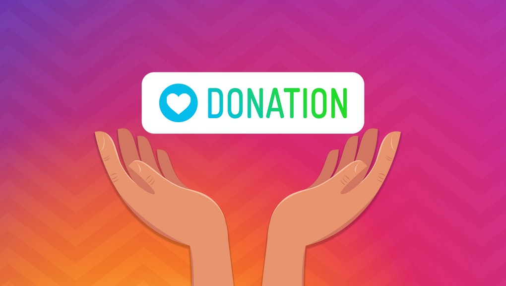 Instagram's new donation stickers make it easier to give, but can ...