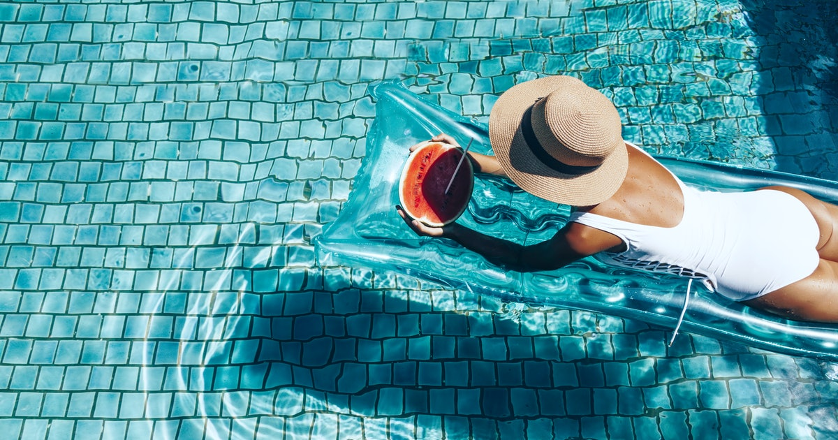 0c56f90ef7cc43 More Stories by The Zoe Report. 10 Summer Pool Party Essentials To Stock Up  On Before Memorial Day