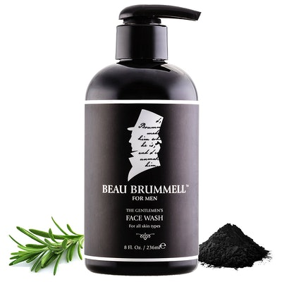 Beau Brummell Activated Charcoal Face Wash