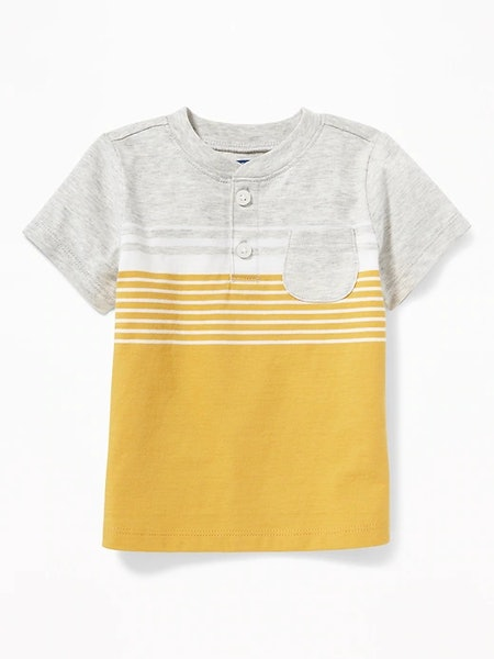 Graphic Henley for Baby