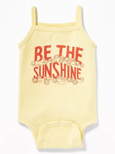 Graphic Tank Bodysuit for Baby