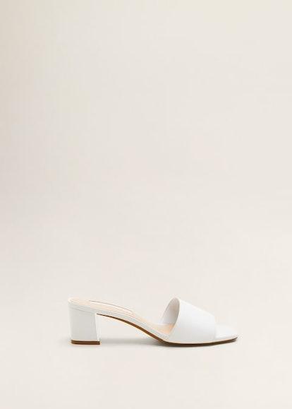 Heel Leather Sandals