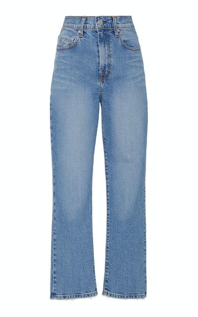 Charlotte High-Rise Straight-Leg Jean